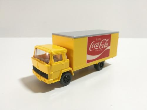 Aqq tren ho camion reparto wiking coca cola, $350 envio