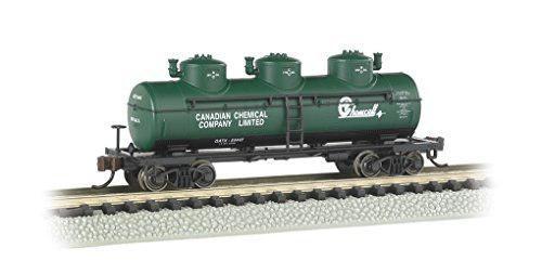 Bachmann industries 3 dome tank chemcell car n scale
