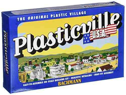Bachmann industries 5 y 10 store set ho scale