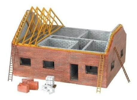 Bachmann industries scenescapes ho scale residential buildin