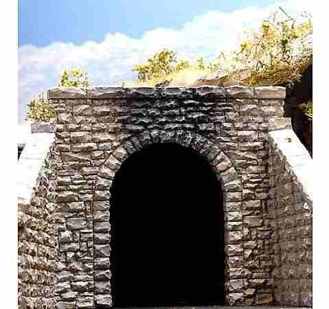 Chooch enterprises ho scale single random stone tunnel porta