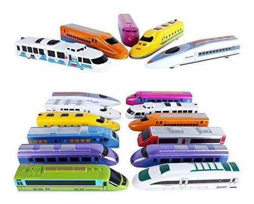 Corper Toys Bullet Train Pull Back Juguete High City City Lo