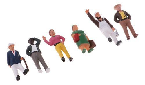 Figura de acción de personas en miniatura de 1/87 a escala