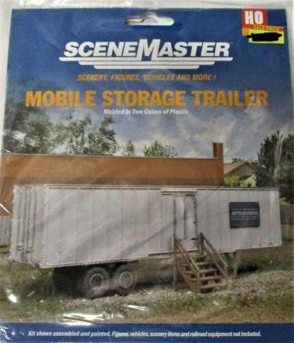 Ho estructuras walthers trailer campamento 1/87