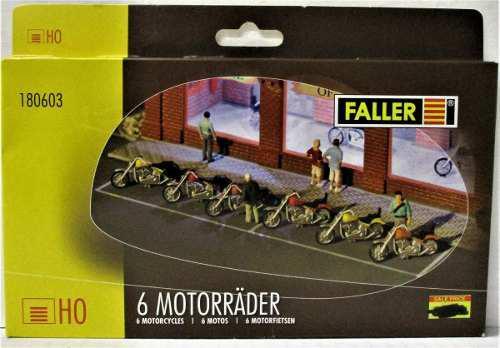 Ho estructuras walthers (faller) set de 6 motos escala 1/87