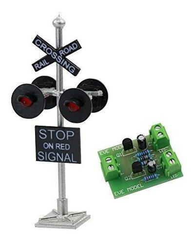 Jtd876rp 1set ho escala railroad crossing señales