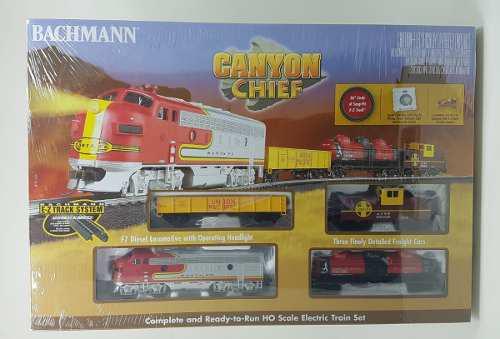 Tren eléctrico bachmann canyon chief set escala ho