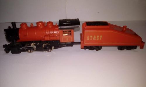 Tren ho maquina de vapor 0-4-0 con luz