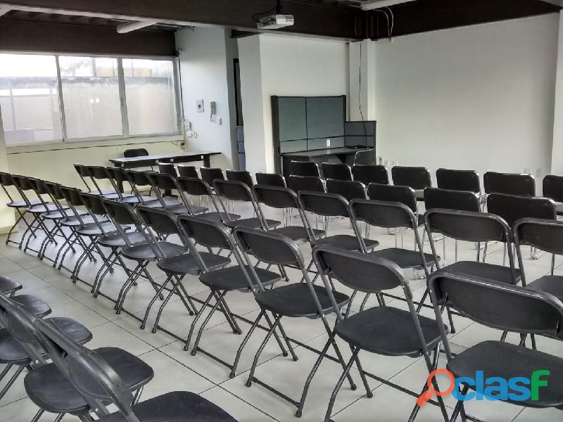 En toluca se renta sala de capacitación para 60 personas