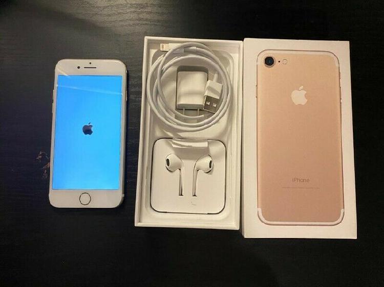 Iphone 7 capacidad 128 gb