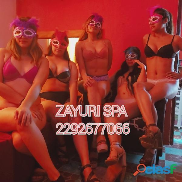 Ven y conocemos, tendrás la mejor experiencia Erótica solo en ZAYURI SPA