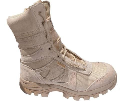 Botas militares hombre para trabajo caqui ram