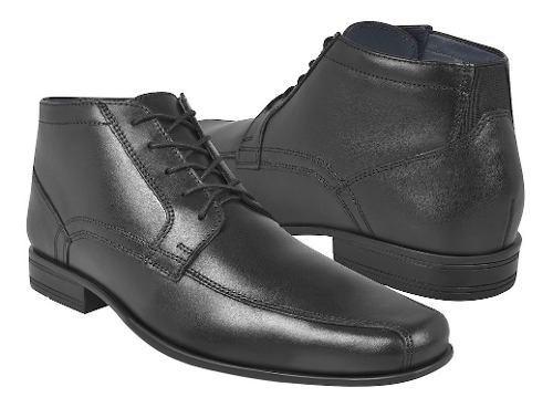 Zapatos de vestir para caballero flexi 90709 negro