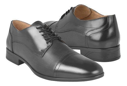 Zapatos de vestir para caballero stylo 1101 negro