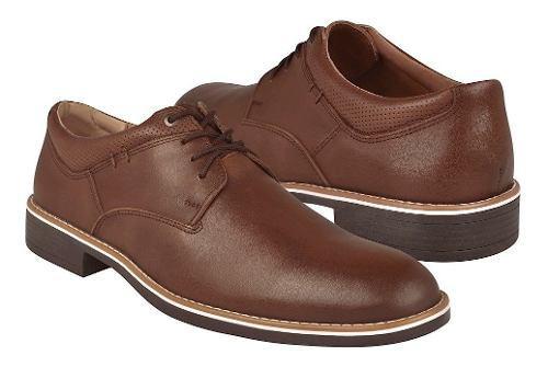 Zapatos de vestir para caballero stylo 3005 café