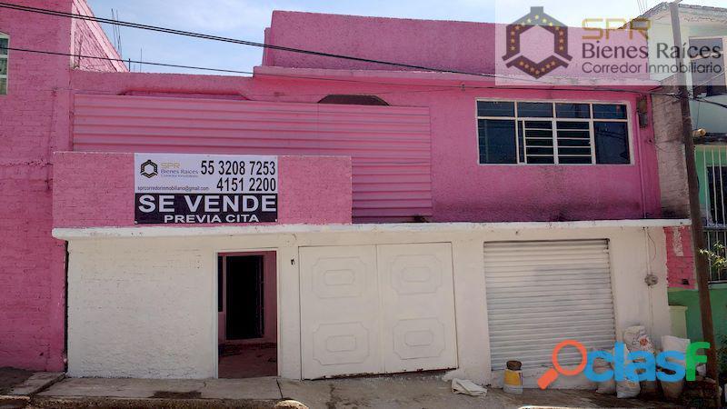 Casa en venta, para remodelar 4 recamaras, el parque tulpetlac, ecatepec