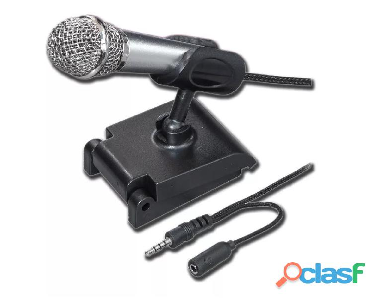 Mini micrófono metálico para grabar en celulares 12 0010