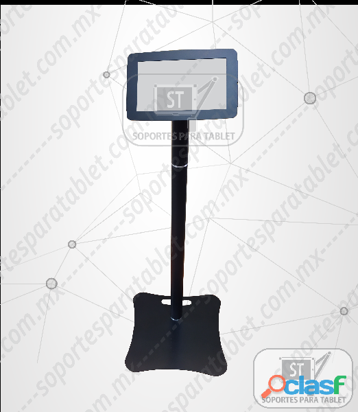 Base piso de seguridad para tablet