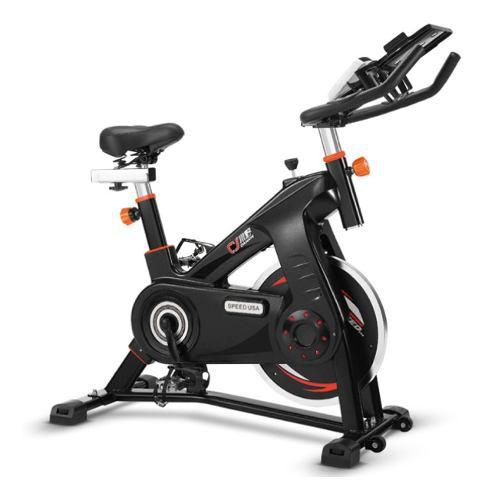Bicicleta spinning profesional fija estática 10kg gym
