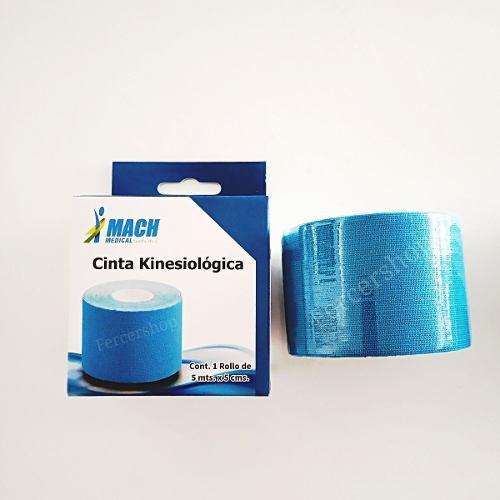 Cinta tape kinesiologica vendaje muscular kinesiotape mach