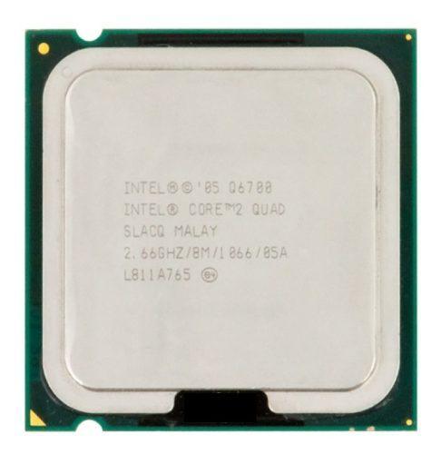 Intel core 2 quad q6700 2.66gh/8m/1066/775 procesador q6700