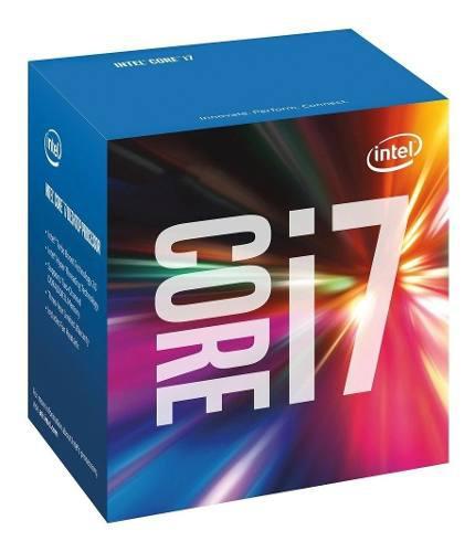 Intel core i7-6700k procesador 4ghz, 8mb cache, socket lga 1