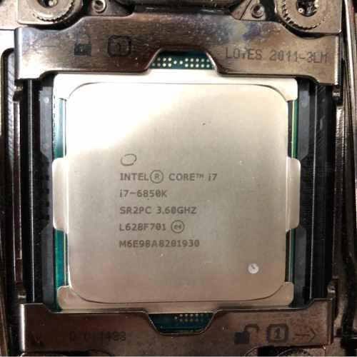 Procesador cpu intel core i7 6850k 3.60ghz 15mb 140w x99