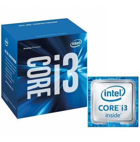 Procesador intel core i3 6100 4core 3.7ghz 51w socket 1151