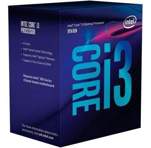 Procesador intel core i3 9100 3.6 ghz quad core 6 mb 1151