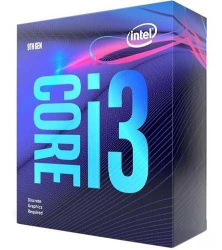 Procesador intel core i3 9100f 3.6ghz quad core lga1151 bx80