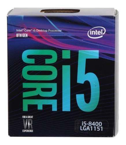 Procesador intel core i5 8600k 3.6ghz 9mb 95w soc1151 /v /vc