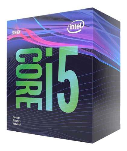 Procesador intel core i5 9400f 6core 2.90- 4.10ghz 65w /v