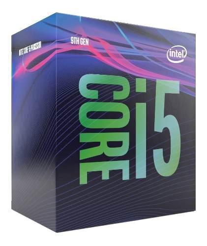Procesador intel core i5 9400f 6core 2.90- 4.10ghz 65w/v /vc