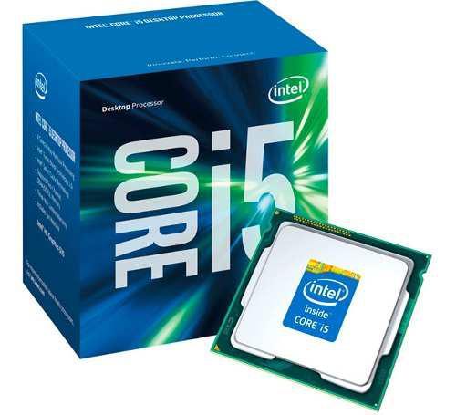 Procesador intel i5 7400 gamer 3.5ghz 6mb cache socket 1151