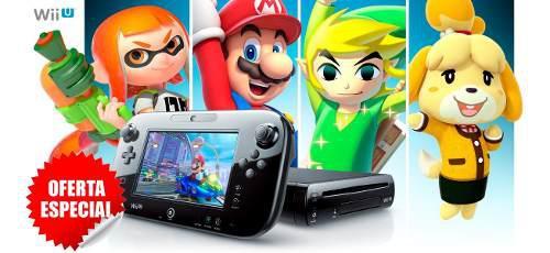 Wii u nintendo + de 150 juegos gamecube, snes, nes, wii,wiiu
