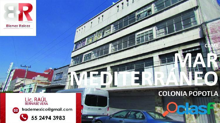 Desarroladores terreno en venta en Popotla, CD. MX. 260 m2