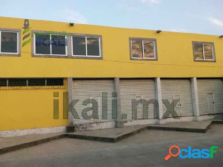 Renta local comercial 48 m² col. del valle tuxpan veracruz, del valle