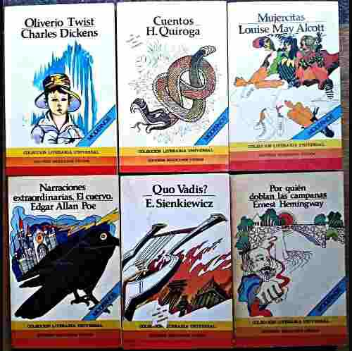 Clásicos de la literatura universal 28 tomos