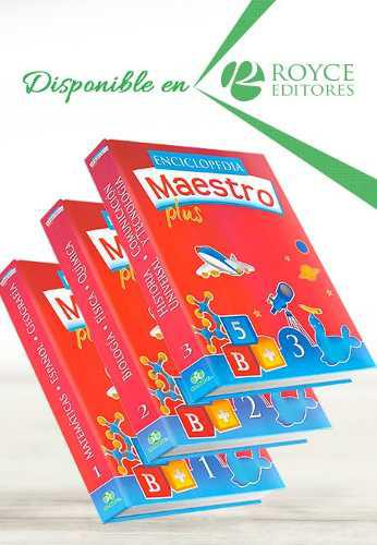 Enciclopedia maestro plus 3 vols