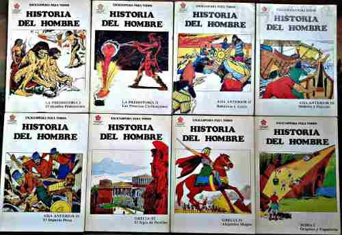 Historia del hombre enciclopedia ilustrada 45 de 52 tomos