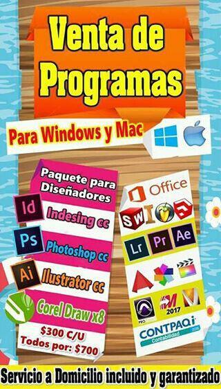Software y programas pc