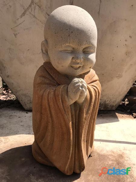 Escultura buda sonriente