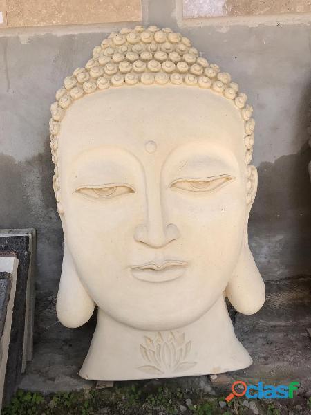 Rostro de Buda Decoración Muro