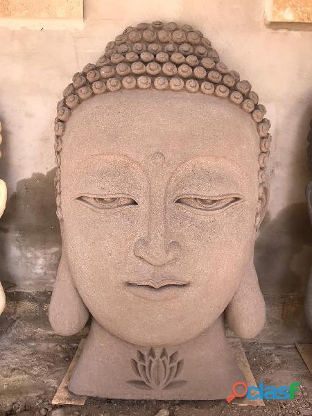 Rostro de Buda Decoración Muro 3