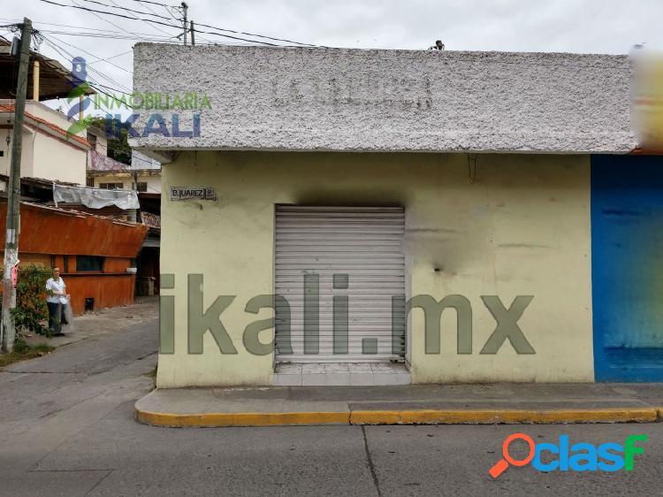 Renta local comercial col. centro tuxpan veracruz, tuxpan de rodriguez cano centro