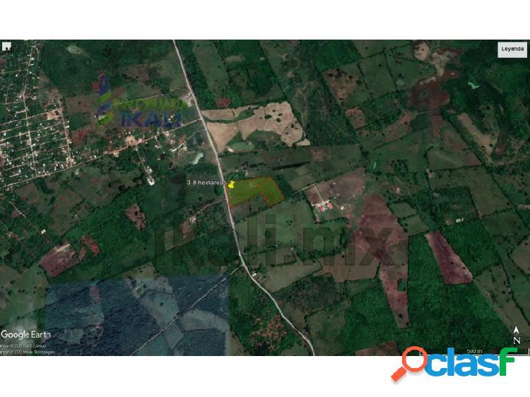 Venta terreno 3.18 hectáreas la victoria tuxpan veracruz, la victoria