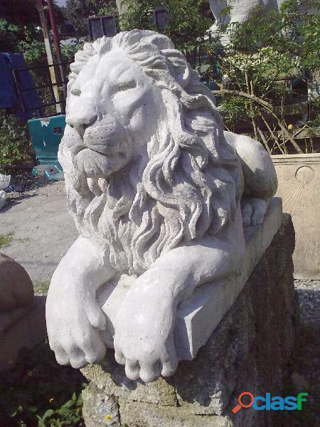 Escultura de Leon 1