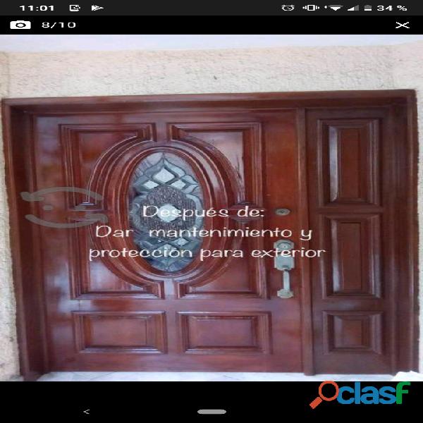 Reparación, mantenimiento y fabricación de puertas.