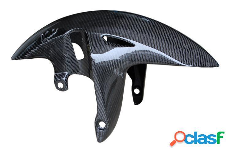 Guardabarros frontal de fibra de carbono para motos honda hornet 600. 2006 a 2009.