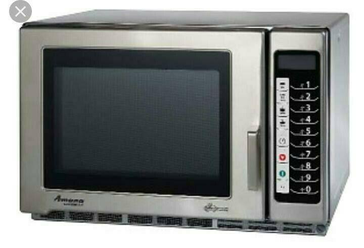 Amana especialistas en hornos de microondas industrial y